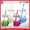 Juice Beverage Mason Jar Beverage Jam Glass Jars with Lid