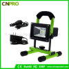Portable Camping 20W Rechargeable LED Flood Light for Emergency Lighting
