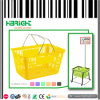 Hand Held Plastic Shopping Basket for Supermarket