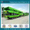 3axles Multifunctional Cargo Flatbed Semi Trailer with Sidewall