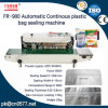 Fr-900automatic Continous Plastic Bag Band Sealing Machine for Yougrt
