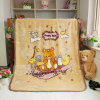 Custom Cartoon Theme Babies Kids Cute Fleece Children Blankets