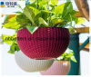 Made in China COM Home & Garden Injection Moulding Colorful Plastic Flower Pots