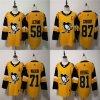 2019 Crosby Kessel Malkin Letang Penguins Third Putian Hockey Jerseys