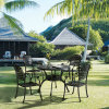 Garden Treasures Patio Furniture for Luxury Cast Aluminum Outdoor Banquet Chair
