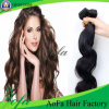 Wholesale Remy Human Hair Extension Virgin Peruvian Hair Weft