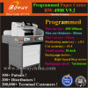 "10"" Touch Screen Electric Program Control PLC Auto Automatic Push Cutting 490mm Guillotine Paper Cutter"