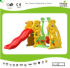 Kaiqi Cute Rabbite Toddler′s Slide and Swing Set (KQ50133J)