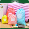 Logo Printed Fashionable Travel Organizer Storage Drawstring Bag