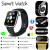 Bluetooth Smart Watch with Heart Rate & Mobile Phone Function A9