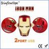 Superman Iron Man Face Design External USB Power Battery (XH-PB-138)