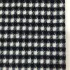 Napping Check Houndstooth Wool Fabric