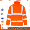 Fashionable High Visibility Waterproof Breathable Men′s Reflective Safety Rain Jacket