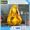 Electric/Motor Hydraulic Orange Peel Grab for Discharging Garbage
