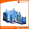 Inflatable Frozen Jumping Castle Combo for Kids Toy (T3-140)