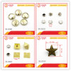 Rivet Hardware Fancy Shapes Metal Pop Rivet for Bag Shoes Jeans Parts