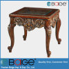 Hot Antique Wooden MDF Resin Glass End Table E-1650#