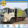 Dongfeng 6 Wheels Compressed Garbage Truck 8 T Refuse Truck