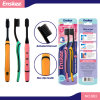 Adult Toothbrush with Superfine Bristles 0.01mm 2 in 1 Economy Pack 863