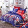 Cartoon Style Printed Polyester Bedding Bed Linen Textile