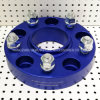 Blue Anodized 5X5 5X127 Wheel Adapter Spacer Fits Jeep Wrangler Jk Jk Unlimited