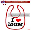 Infant Baby Accessories Bib Apron for Party Heart Mom (P1005)