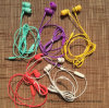 Earphone in-Ear 3.5mm Colorful Earphone with Mic Basic Version Earphones for Smartphones