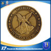 Custom Antique Metal Coin with Printing Decal for Promotion (Ele-C024)