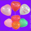 Inflatable Rubber Helium Heart Shaped Balloon for Carnivals