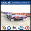 10.5m 3axle Lowbed Semi Trailer Without Ramp