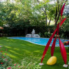 Premium Artificial Grass for Landscaping U Shape Fiber Fs