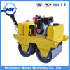 Single/Double Drum Diesel Vibration Hand Road Roller with 2 Steel Wheels