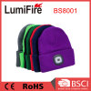 USB Rechargeable LED Beanies 100% Acrylic LED Winter Kintted Hat Light