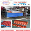 1040mm Width UPVC/PVC Bamboo Roofing Sheet Extrusion Line