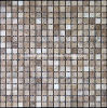 Light Emperador Brown Marble Mosaic Tile (HSM126)