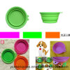 Silicone + ABS Pet Bowl, Folding Bowl (HA53002)