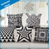 Geometry Polyester Linen Throw Pillow Cushion