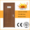 Bathroom PVC Door Price Insert Glass (SC-P020)