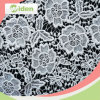 Lace Fabric for Cloth Accessories Milky Polyester Chemical Lace Fabric