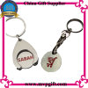 Custom Metal Silver Promotion Trolley Coin for Token Coin Key Chain Gift