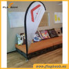 2.8m Tradeshow Aluminium Digital Printing Teardrop Flag/Flying Flag