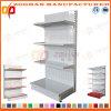 Manufactory Single Side Iron Supermarket Hole Back Display Wall Shelf (Zhs560)