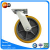 Heavy Duty Trolley Caster Thermoplastic Rubber Swivel Lock Wheel