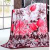 Winter Beautiful Polyester Fabric Coral Fleece Blanket