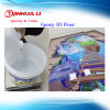 Crystal Clear Two Parts Clear Epoxy Resin for Epoxy 3D Floor Coating