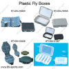 Wholesale Varies Designs Plastic Fishing Hooks, Fly Fishing Flies, Terminal Tackle Boxes 09A-H0409, H0408, H0508, H1007