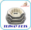 Jacquard Woven Soft Sherpa Embroidered Set 3 Pet Bed