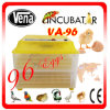 Best Price CE! Good Quality 98% Hatching Rate Automatic 96 Egg Incubator
