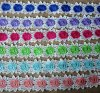 Chemical Milk Yarn Multiple Color Flower Embroidery Lace for Decorations