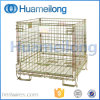 Metal Foldable Metal Storage Warehouse Wire Cage